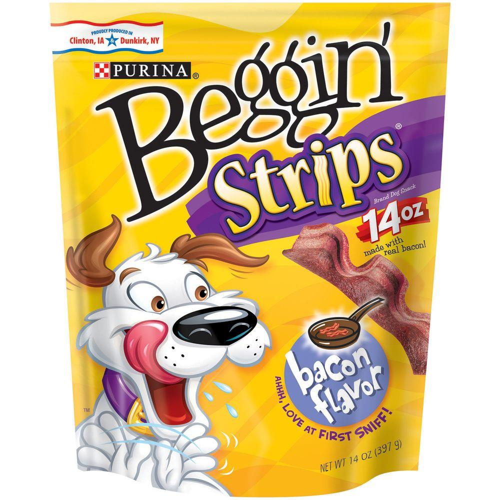 Meaty Dog Snack with Bacon (14 oz. Bag)