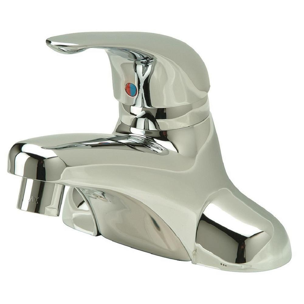 Zurn Aquaspec In Centerset SingleHandle LowArc Bathroom Faucet - Bathroom faucet 8 inch center single handle