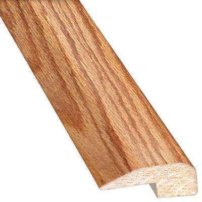 Red Oak Natural 0.88 in. Thick x 2 in. Wide x 78 in. Length Hardwood Carpet Reducer/Baby T-Molding