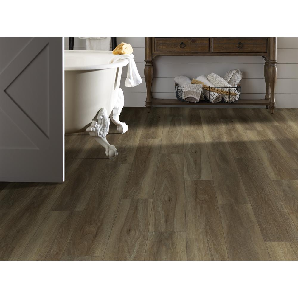 Shaw Sydney Clove 7 In X 48 In Resilient Vinyl Plank Flooring
