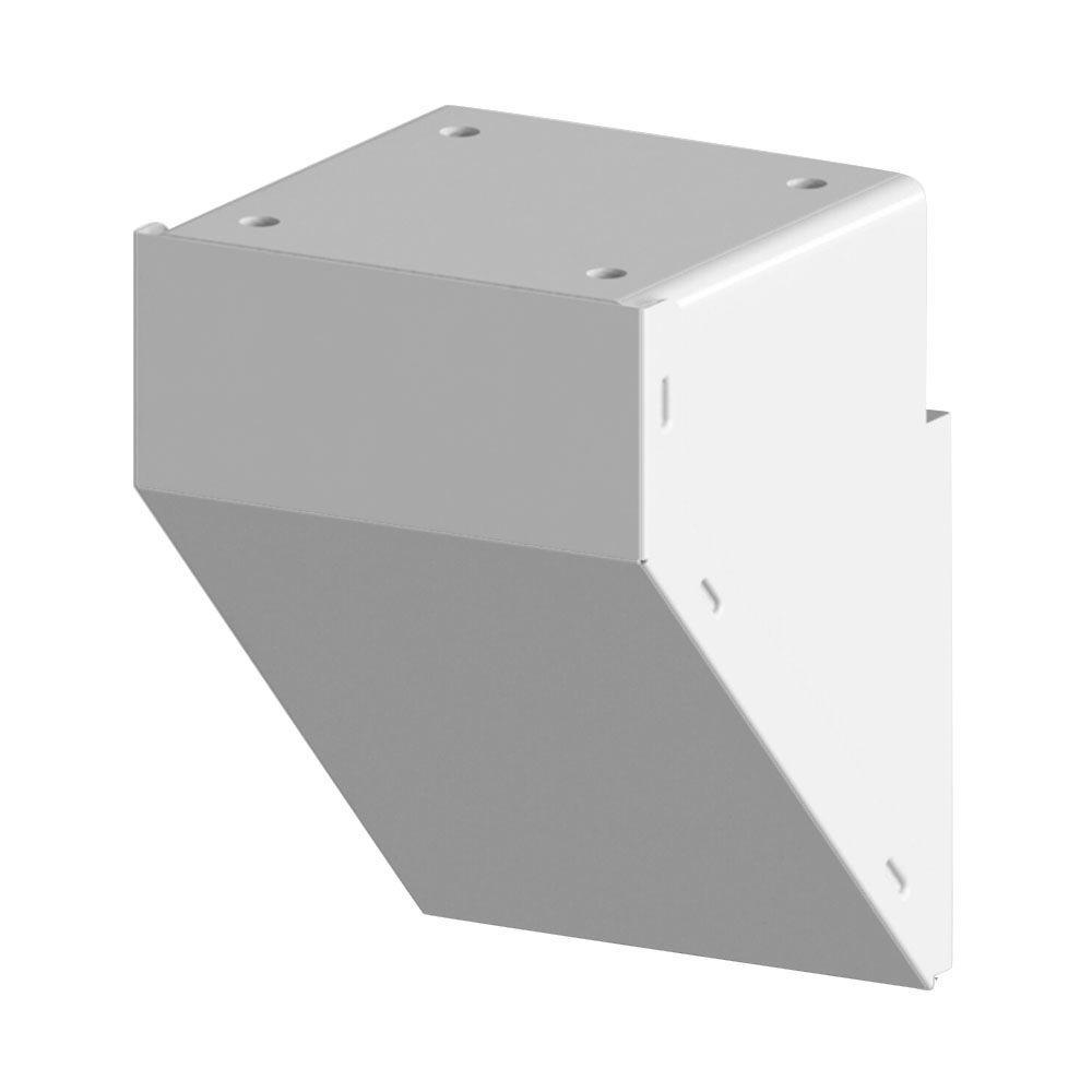 Veranda Aluminum Rail Bracket for Vinyl Fencing (2-Pack)-73012344 ...