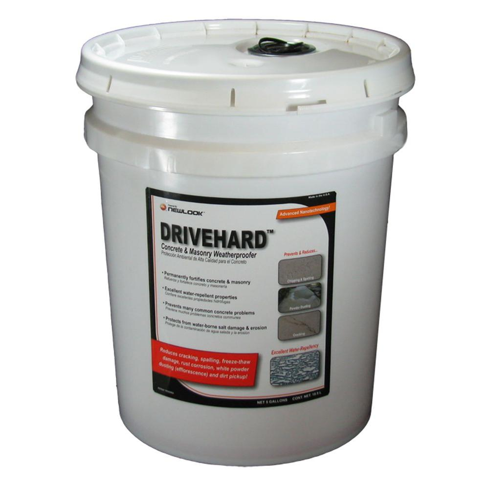 DRIVEHARD 5 gal. Premium Concrete and Masonry Weatherproofer and Fortifier