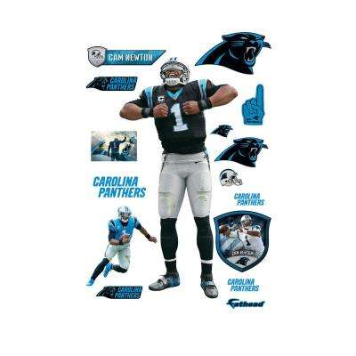 78 in. H x 39 in. W Cam Newton - Superman Wall Mural