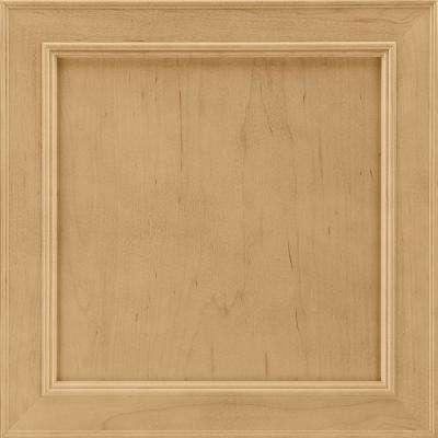 14-9/16 in. x 14-1/2 in. Cabinet Door Sample in Brookland Maple Rye