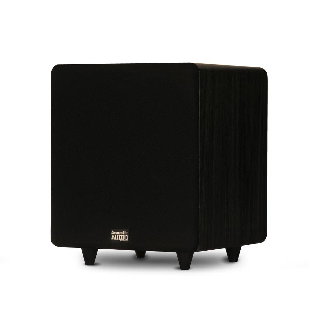 Home Theater Powered 10 in. LFE Subwoofer Front Firing Sub
