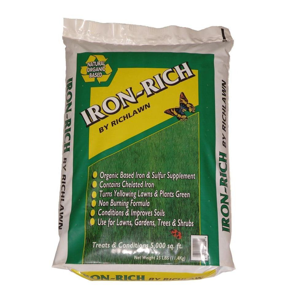 Richlawn 25 lb  Iron-Rich Organic Based Iron Supplement