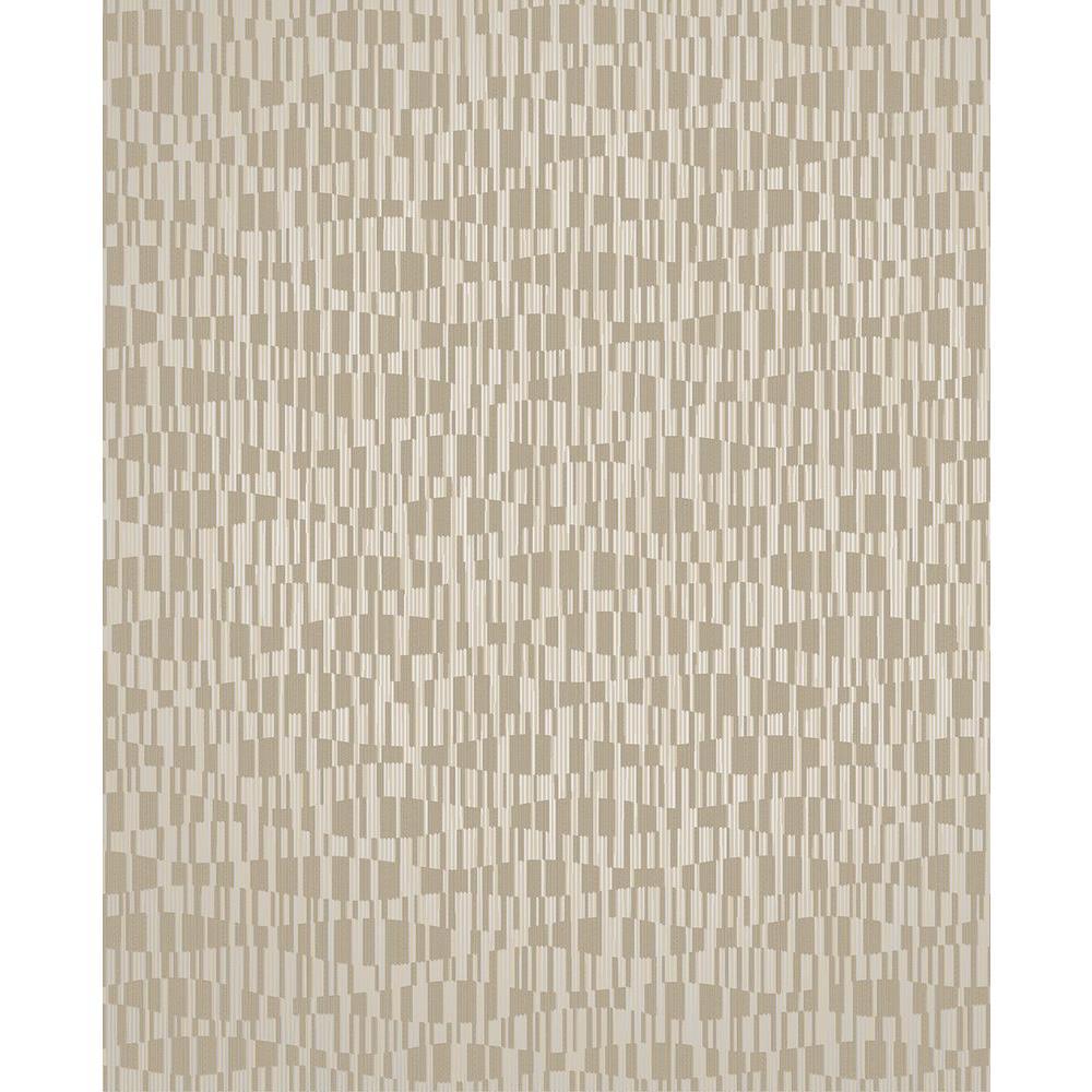 Atonal Taupe Stripe Wallpaper
