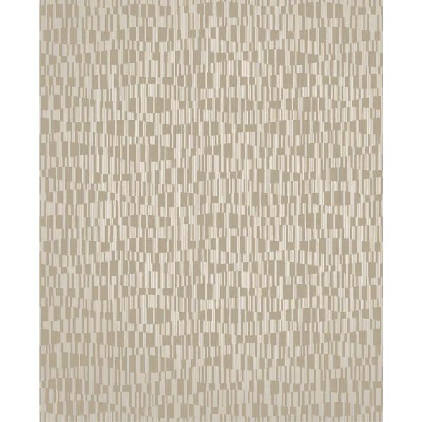 Brewster Atonal Taupe Stripe Wallpaper 2683-23048