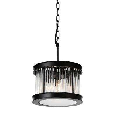 Mira 4-Light Black Pendant