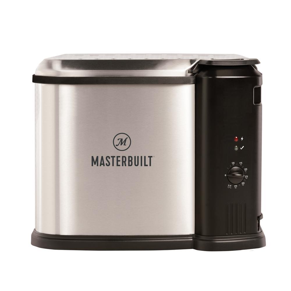 Masterbuilt 10 Liter XL Electric Fryer, Boiler, Steamer
