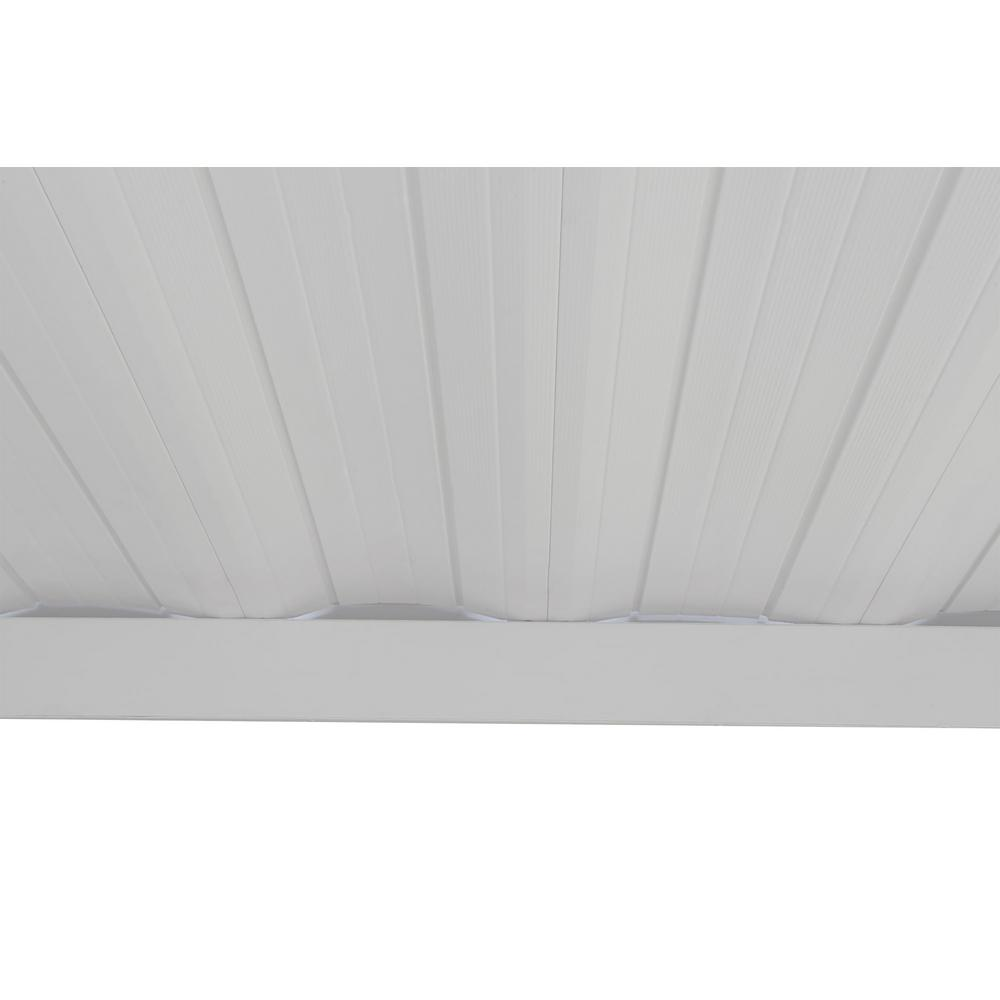 Vinyl Coated Steel Attached Patio Cover