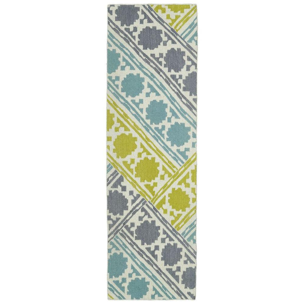 Glam Turquoise 2 ft. 6 in. x 8 ft. Runner