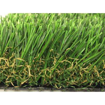 GREENLINE 3D-W Pro 80 Spring Artificial Grass Synthetic Lawn Turf Carpet for Outdoor Landscape 15 ft. x Custom Length
