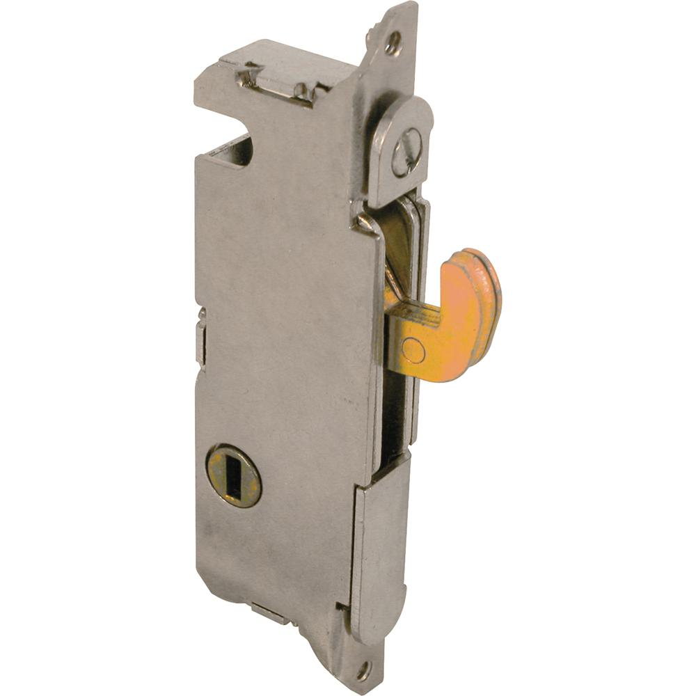 Prime-Line Mortise Lock, 3-11/16 in. Hole Centers, Vertical Keyway Position, Steel Construction