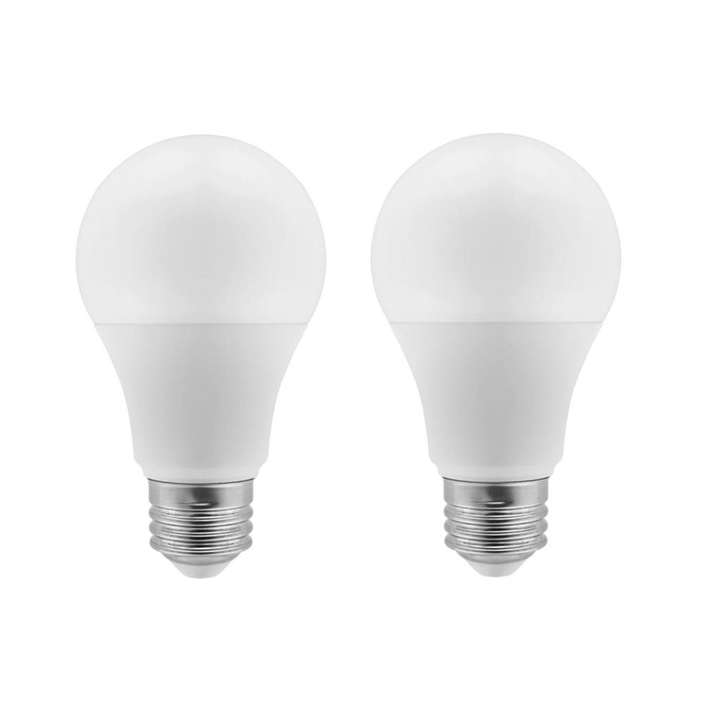 60-Watt Equivalent A19 Dimmable LED Light Bulb (2-Pack)