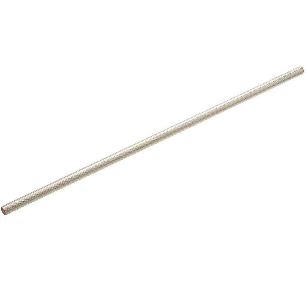 Pack of 12 1//2-13 X 2 Zinc Plated Threaded Rod Studs