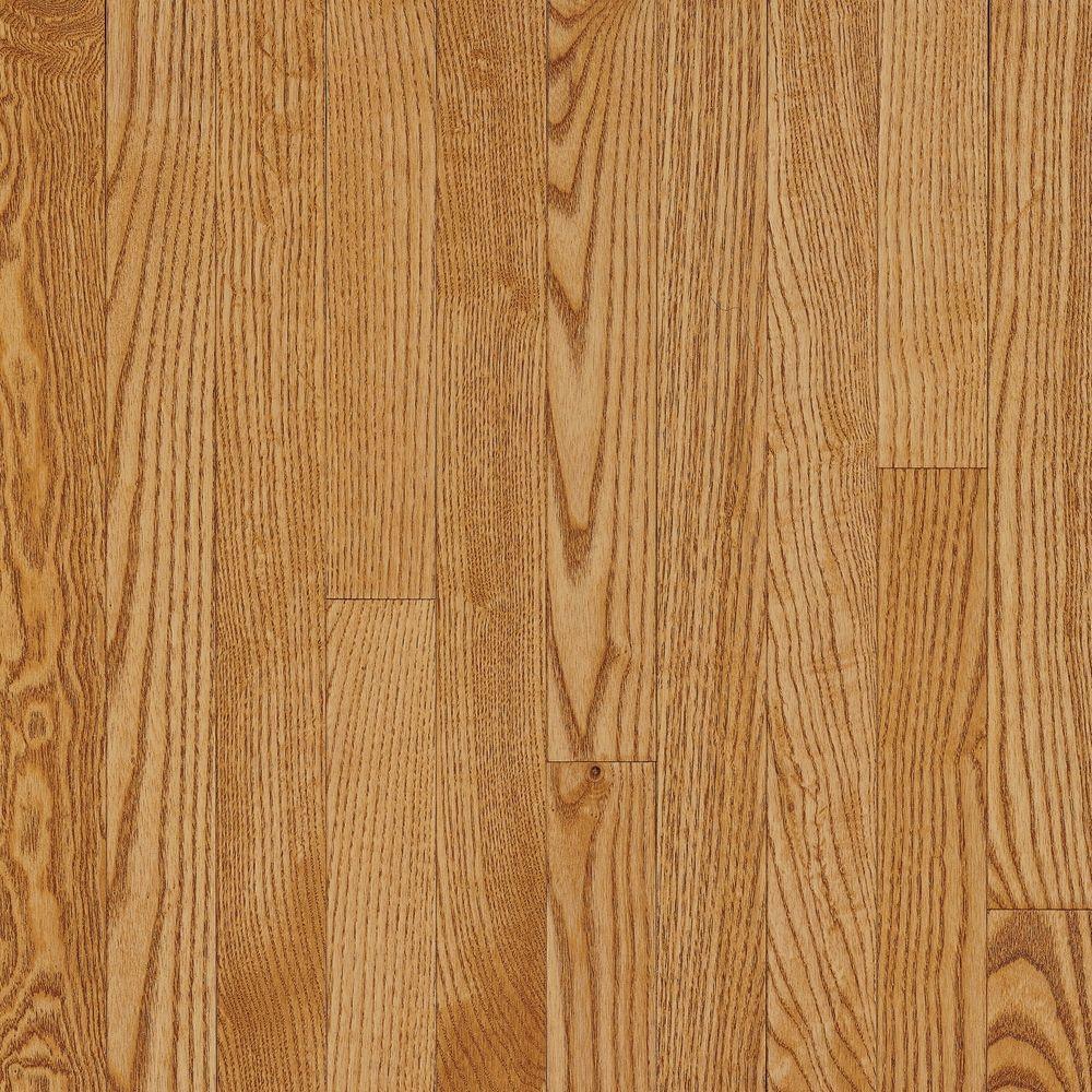 Bruce American Originals Spice Tan Oak 5/16 in. T x 2-1/4 in. W x Random Length Solid Hardwood Flooring (40 sq. ft. / case)