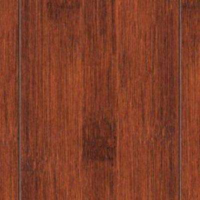 Take Home Sample - Hand Scraped Seneca Solid Bamboo Flooring - 5 in. x 7 in.
