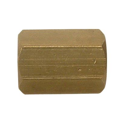 1/8 in. FIP Brass Coupling Fitting