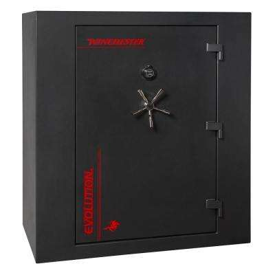 Evolution 55 cu. ft. 67-Gun 60 Minute Fire Resistant U.L. Mechanical Lock Modular Interior Gun Safe, Flat Black