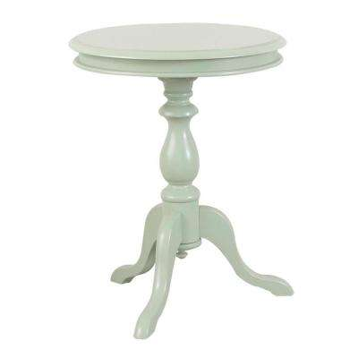 Gilda Antique Ivory Side Table