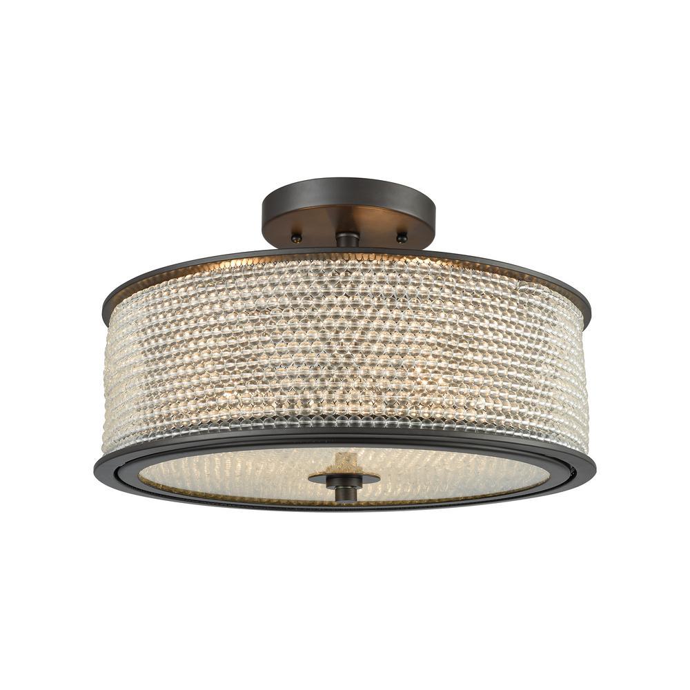 Elk Lighting Hamel: Titan Lighting Sweetwater 2-Light Oil Rubbed Bronze With