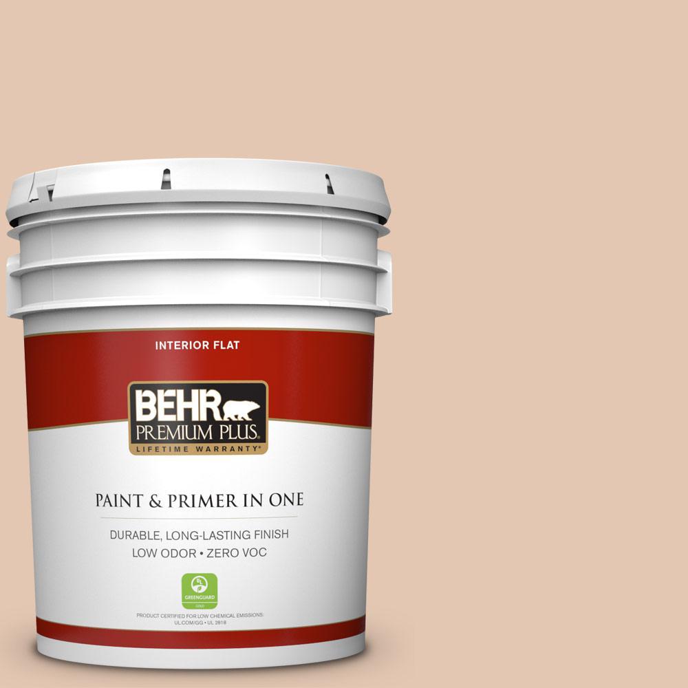 BEHR Premium Plus 5-gal. #S230-2 Mesquite Powder Flat Interior Paint