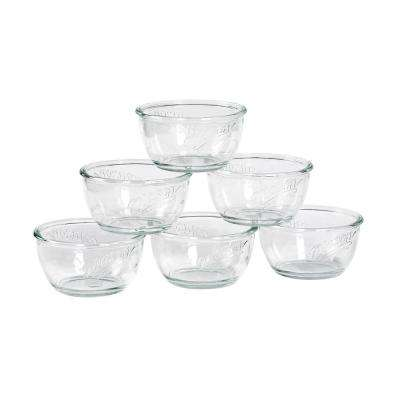 Serving Clear 6 in. Cereal Bowls (Set of 6)