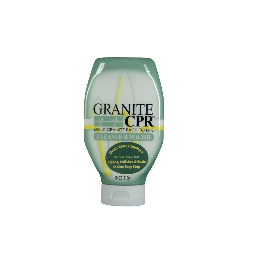 GraniteCPR Granite CPR 18 oz. Granite Cleaner Polish and Sealer