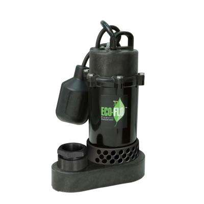 1/2 HP Submersible Sump Pump with Wide Angle Switch