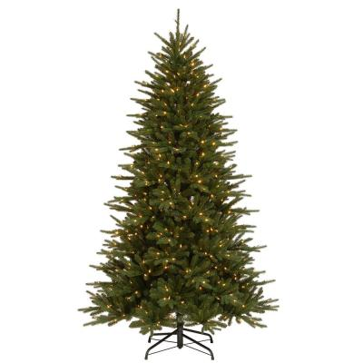 7.5 ft. Easton Spruce Tree with Dual Color LED Lights