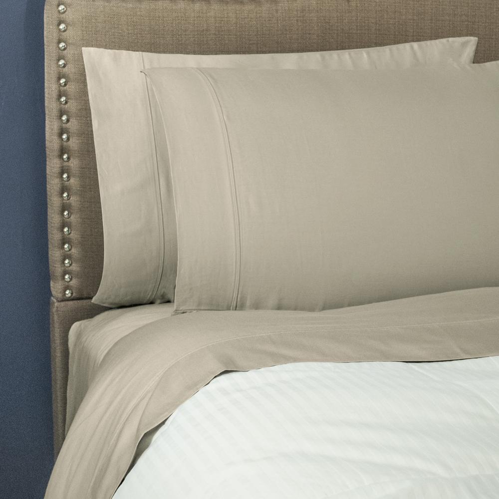 Nouvelle Home Lexington 400 Thread Count Linen Queen Sheet Set