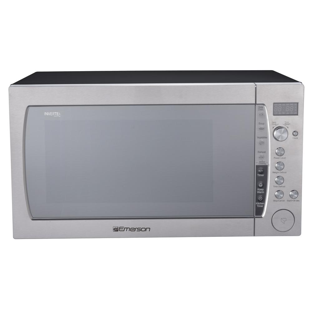 2.2 cu. ft., 1200-Watt Countertop, Inverter, Sensor Cooking Microwave Oven in