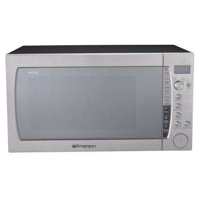 2.2 cu. ft., 1200-Watt Countertop, Inverter, Sensor Cooking Microwave Oven in Stainless Steel