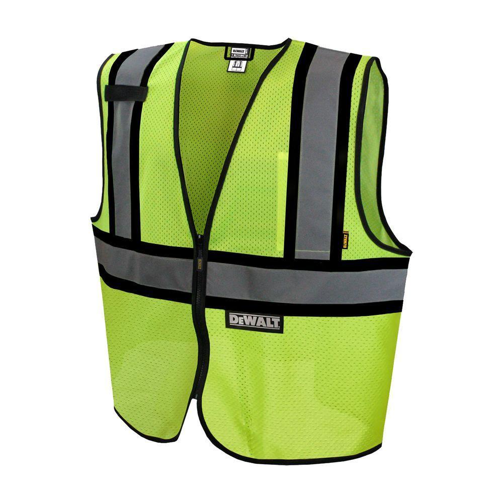 DEWALT Large 2 Tone Mesh Class 2 Vest