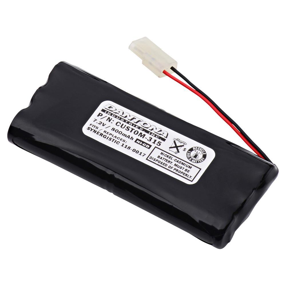 Dantona 7.2-Volt 800 mAh Ni-Cd battery for Synergistic - 118-0017 Emergency Lighting
