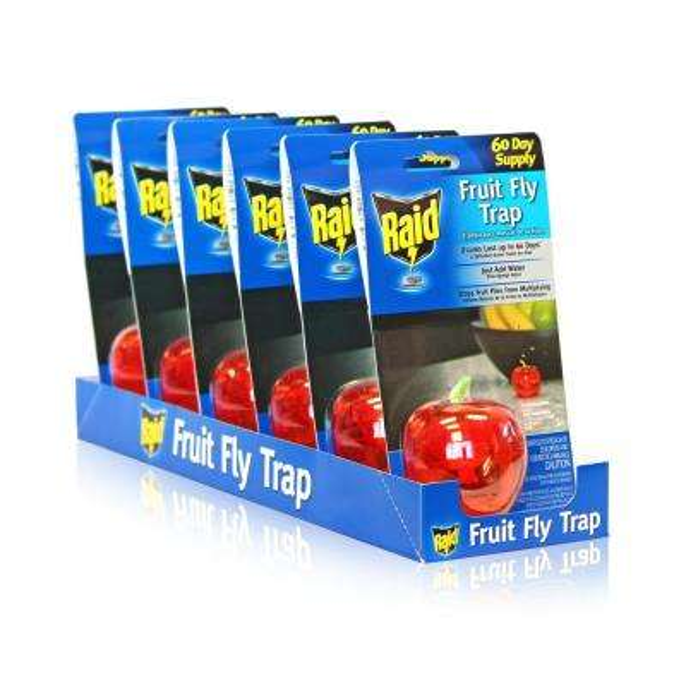 Fruit Fly Apple Design Traps (6-Pack)