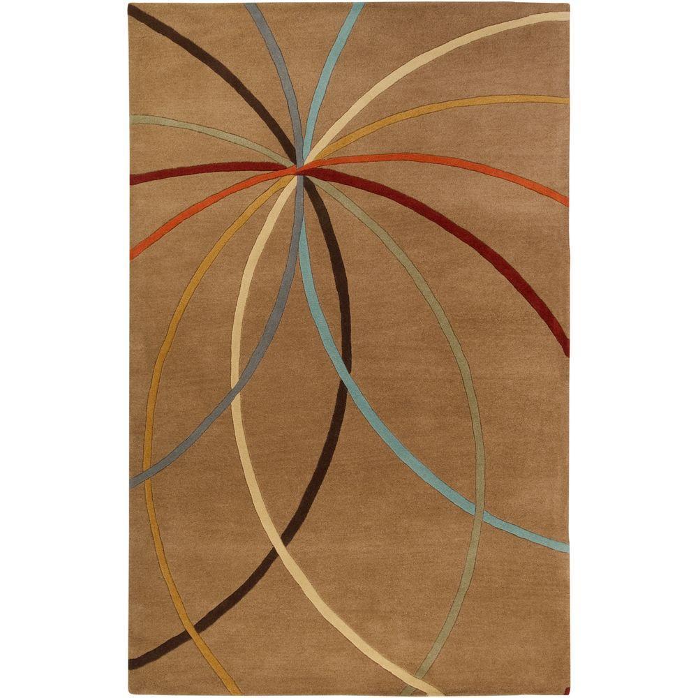 Artistic Weavers Hughson Mocha 4 ft. x 6 ft. Area Rug