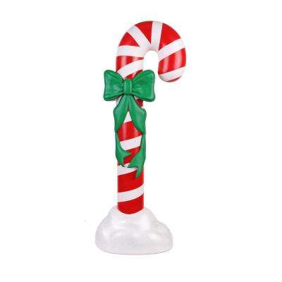 42 in. Blow Mold Candy Cane With C7 Bulb