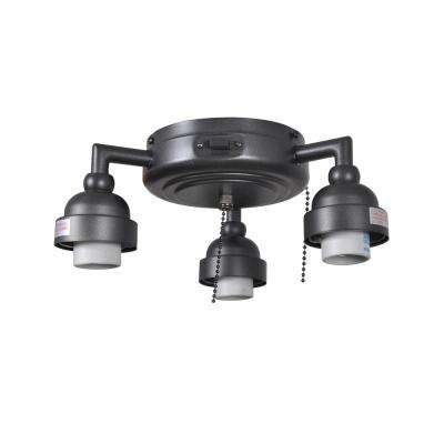Trentino II 60 in. Natural Iron Light Kit (New Version)