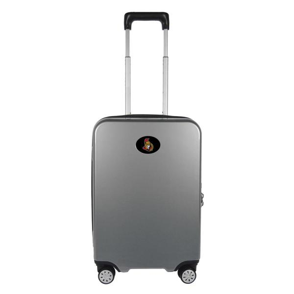 0bf7a8766 Wenger Zurich 20 in. Pewter Pilot Case Spinner Suitcase 7895434157 - The  Home Depot