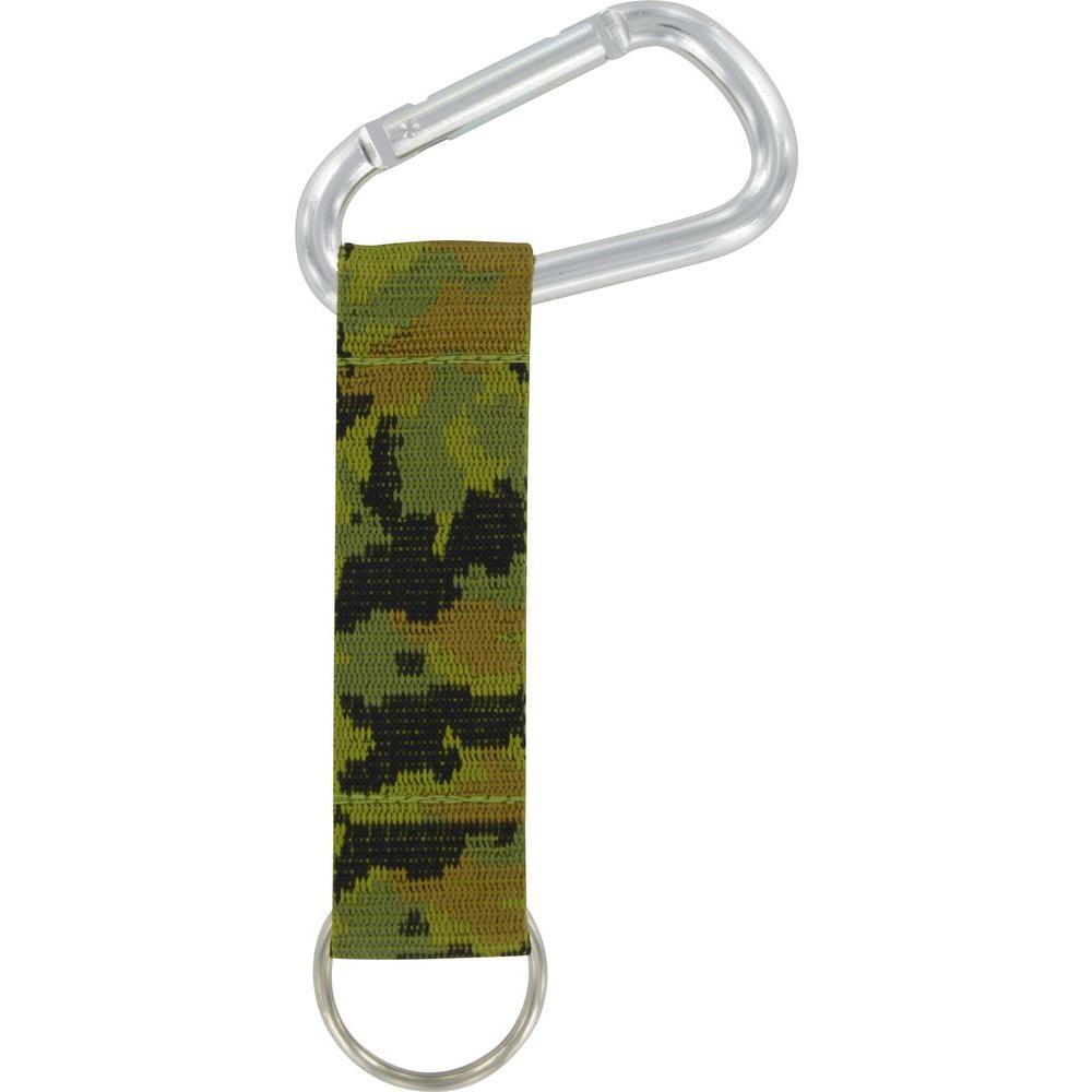 Camouflage Dark Green Carabiner Strap