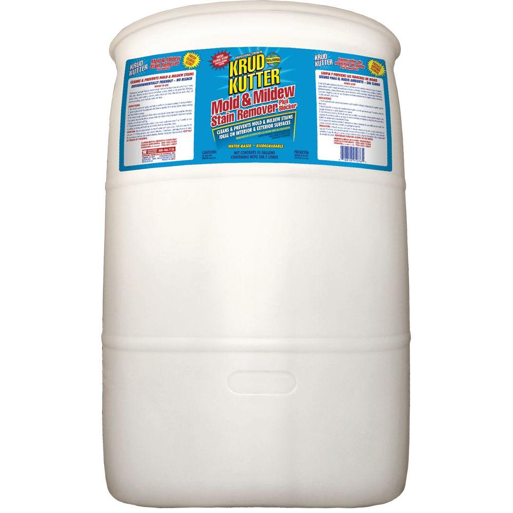 Krud Kutter 55-gal. Mold and Mildew Stain Remover