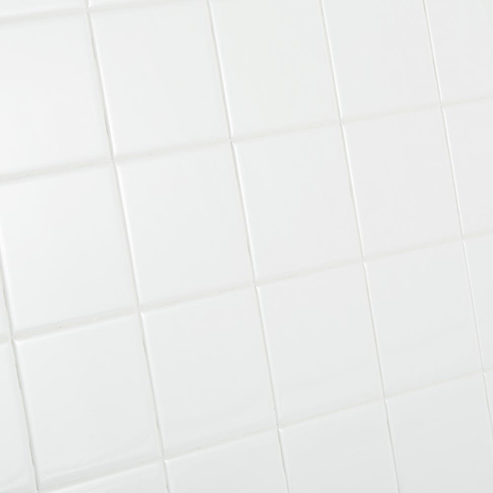 4x4 ceramic tile tile the home depot restore bright white 4 14 in x 4 14 doublecrazyfo Images