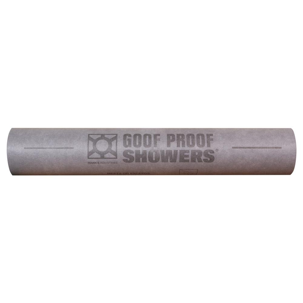 Goof Proof Shower Goof Proof Water Proofing Sheet Membrane 3 ft. 3 in. x 98 ft. 5 in.