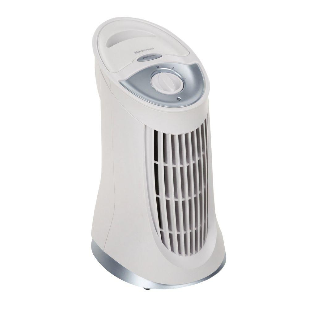 Honeywell QuietClean Compact Tower Air Purifier with Permanent Filters