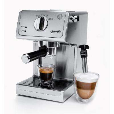 15 Bar Espresso and Cappuccino Machine with Premium Adjustable Frother - ECP3630
