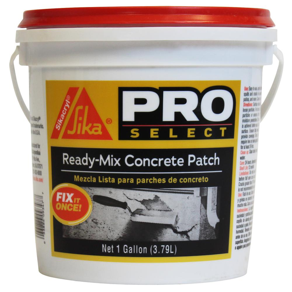Sika 1 Gal Ready Mix Concrete Patch 514899 The Home Depot