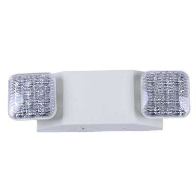 Rectangle 11 Watt With Ni Cad 6 0 Volt Battery White Integrated Led Emergency Light