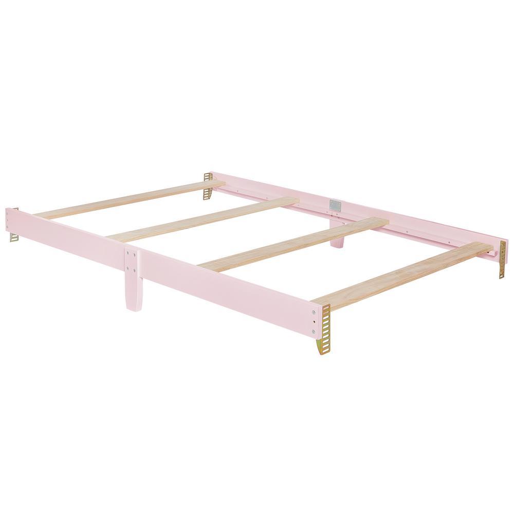 Universal Blush Pink Full Size Bed Rail (1-Pack)
